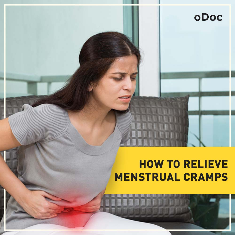 How to relieve menstrual cramps