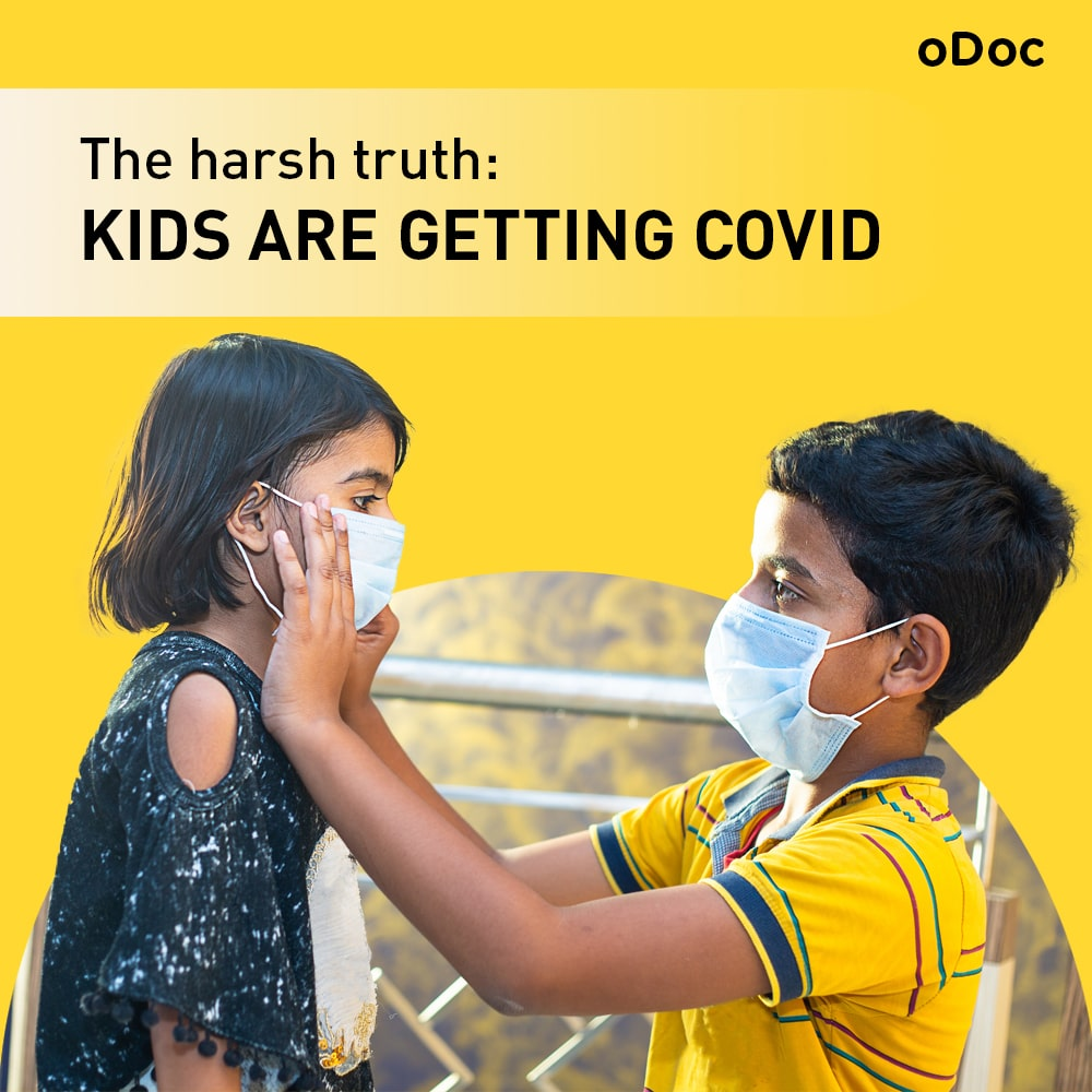 The harsh truth: Children are getting COVID